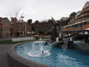 Fountain in Salamanca.