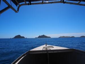 On the way to Modriki Island. The leftmost one.