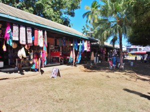 Handicraft village in Nadi Town.