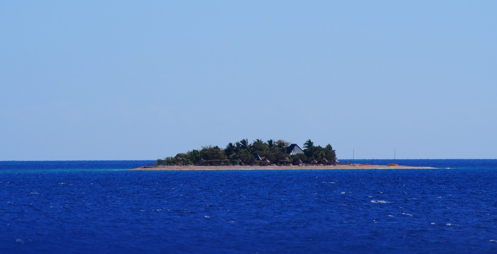 One of the islands we saw on board.