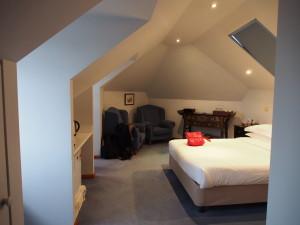 Bedroom at the loft.