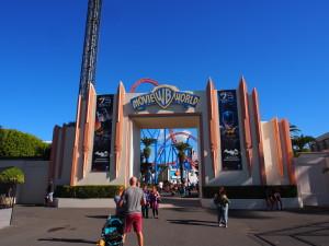 Warner Brothers Movie World theme park.
