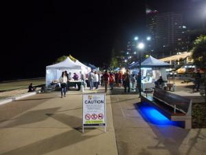 Night Market in Surfer's Paradise.