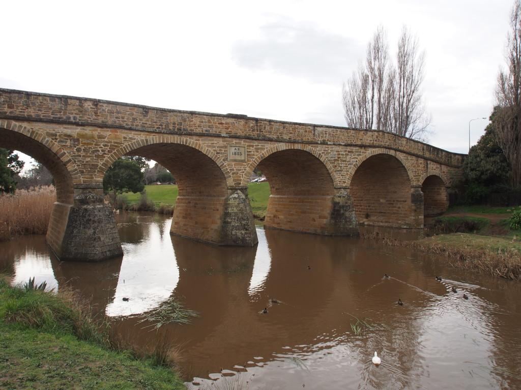 Oldest bridge in Australia.