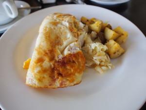 Omelette Fiji style.