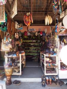 Handicraft store.