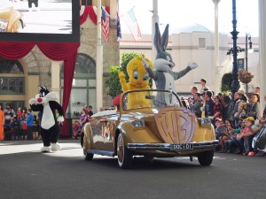 Bugs and Co. on parade.