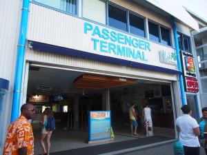 Cruise terminal at Port Denarau.