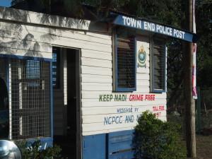 Police post in Nadi town.