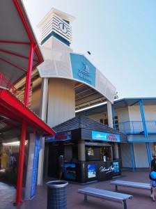Port Denarau shopping area.