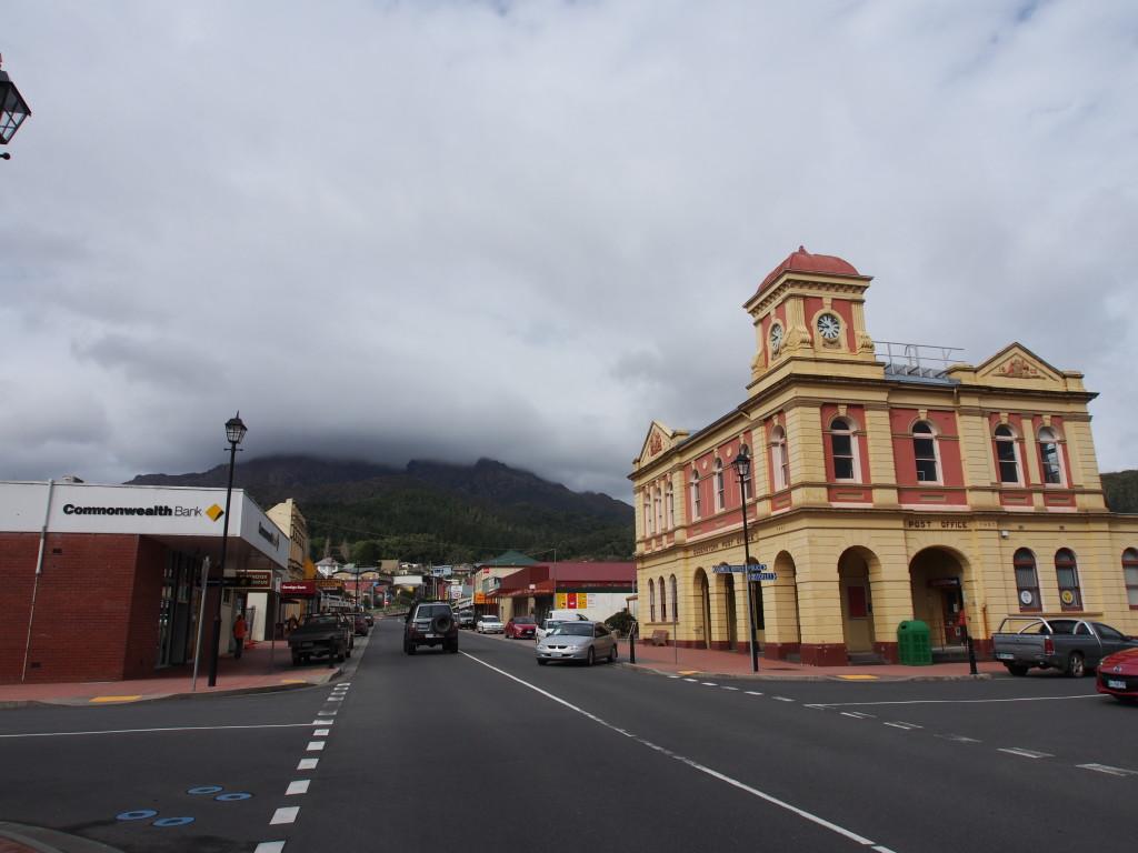 Queenstown town.