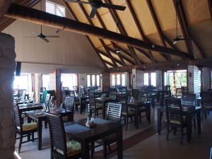 Resort restaurant.