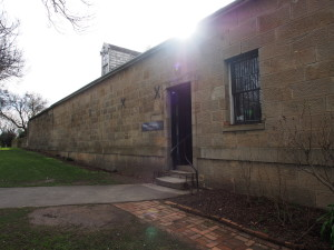 Richmond gaol, prison that we didn't visit.