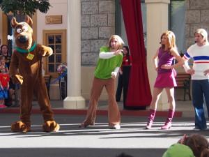 Scooby Doo show.