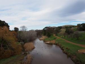 Stream from the bridge.
