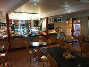 Vietnamese cafe at Salamanca.