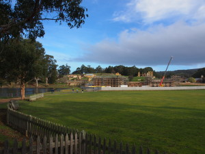 View of Port Arthur site.