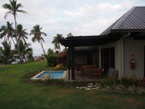 Villa with private pool.