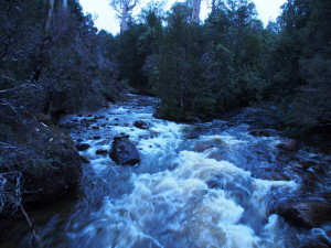 Watersmeet, where waters meet.