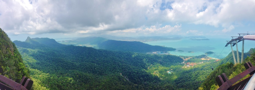 Pano from the middle section
