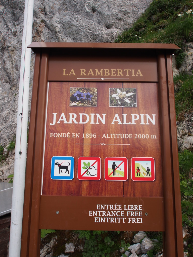 Jardin Alpin.