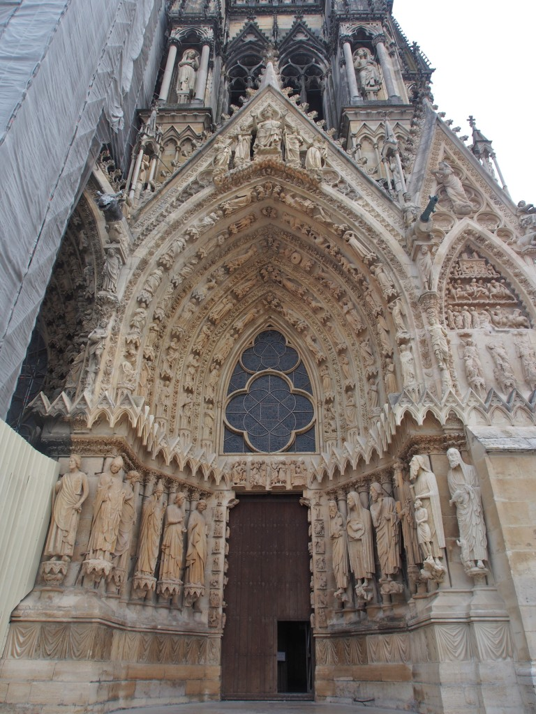 Entrance of the Cathedral.