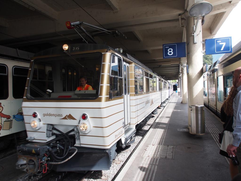 Goldenpass train.