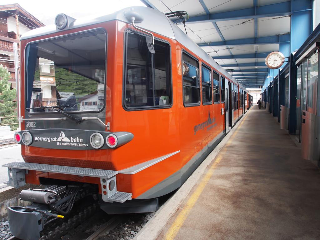 Gornergrat train.