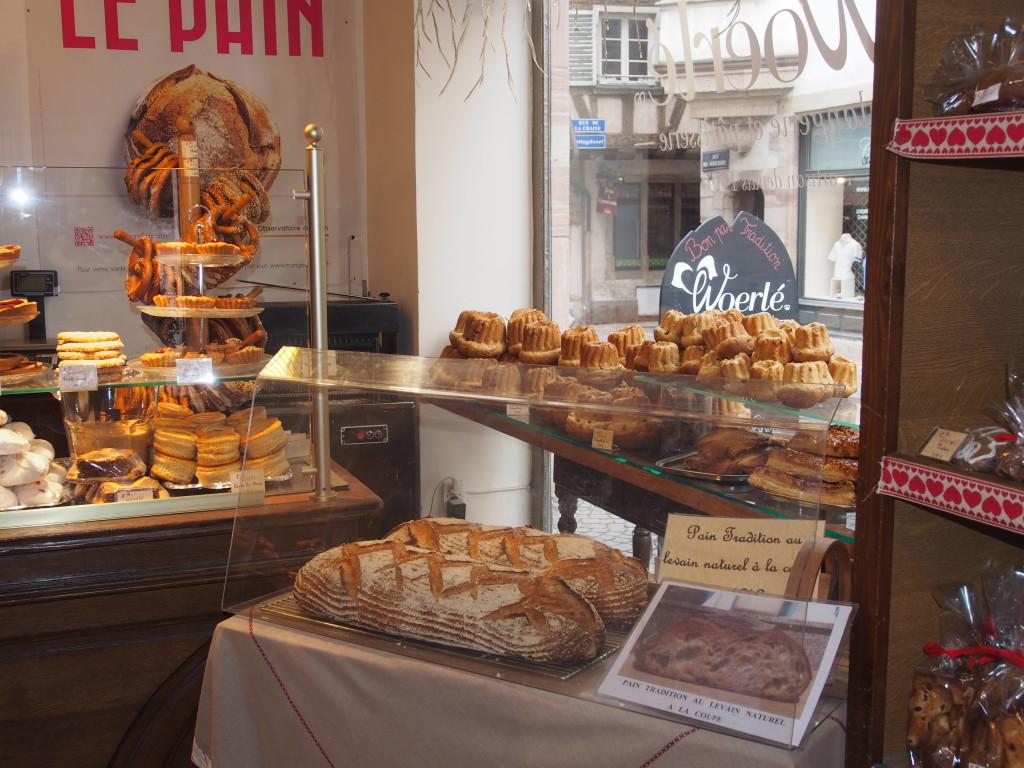 Inside Woerle bakery.