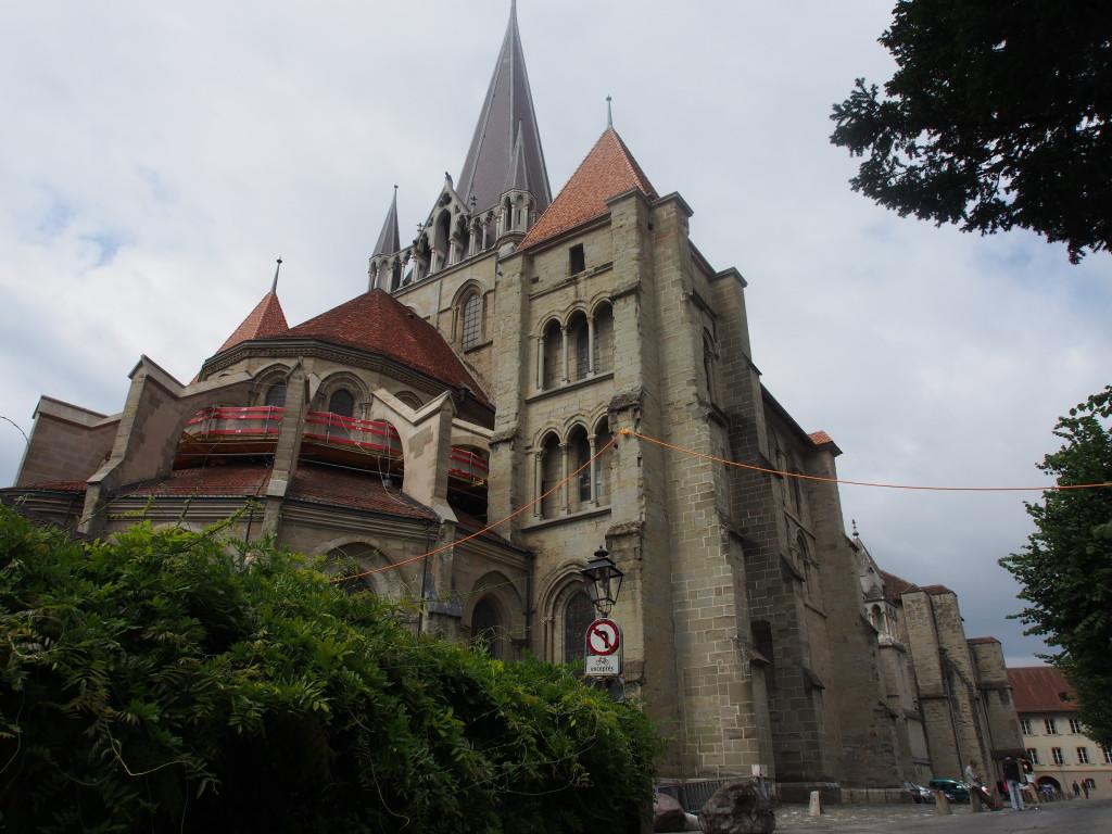 La Cathedrale de Lausanne.