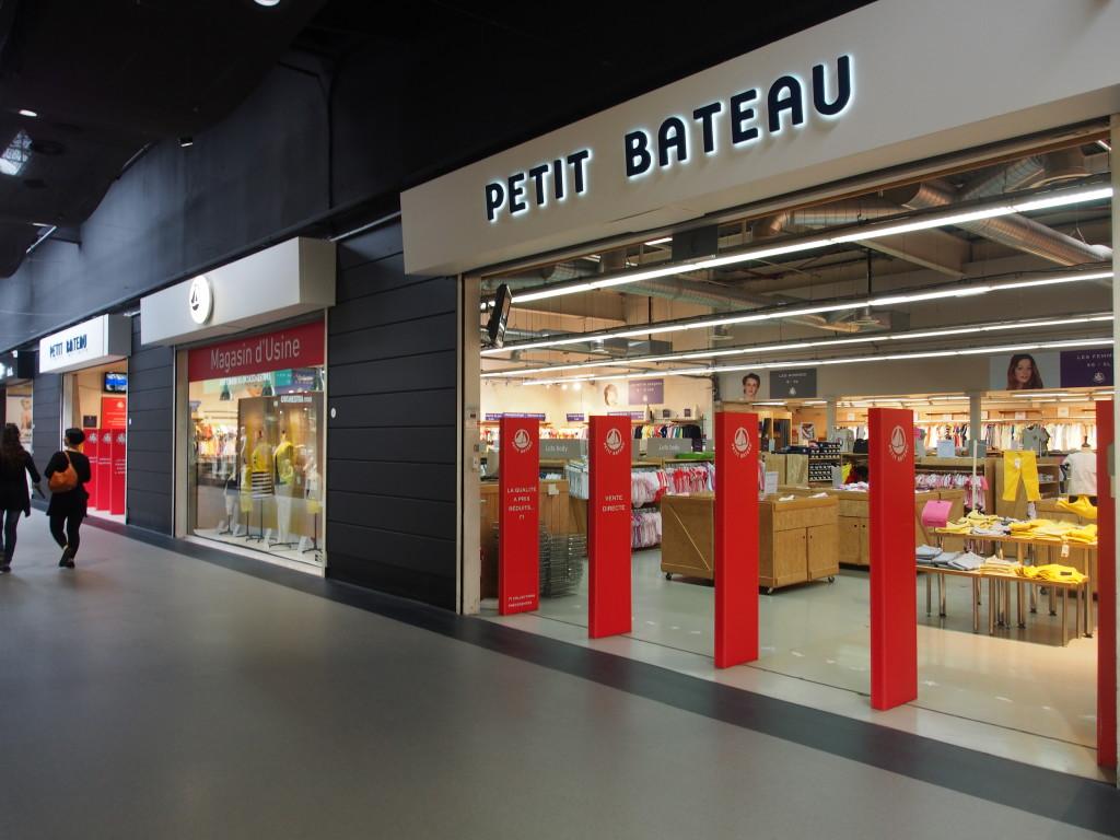 Huge Petit Bateau outlet.
