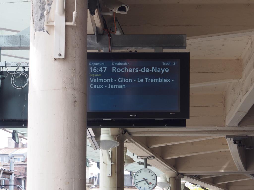 Destination Rochers De Naye.