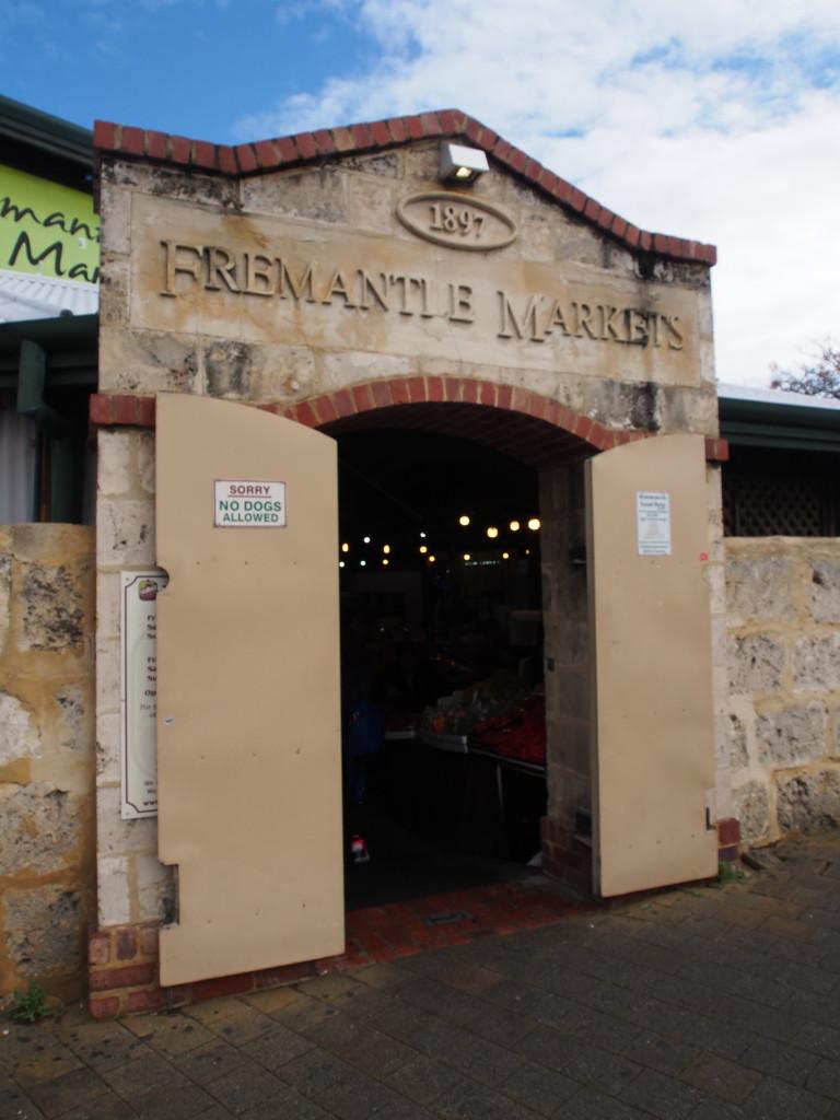 Popular Fremantle markets.