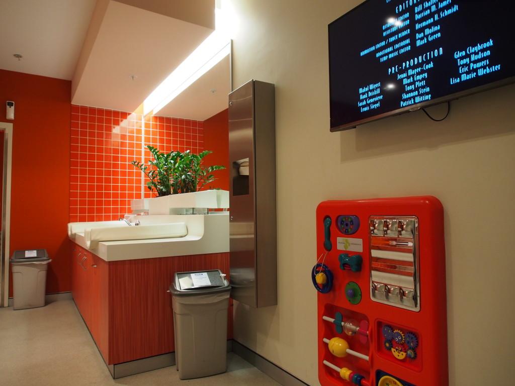 Nursing room at Enex100.