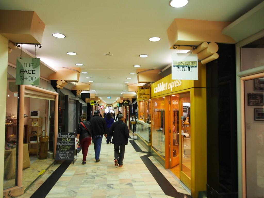 Piccadily Arcade.