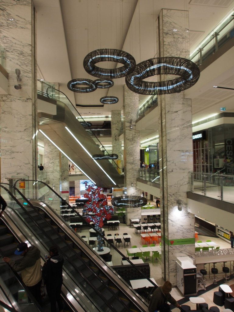 Raine Square shopping mall.