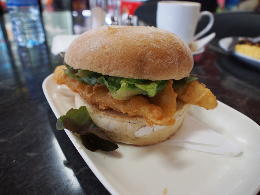 Sea burger.
