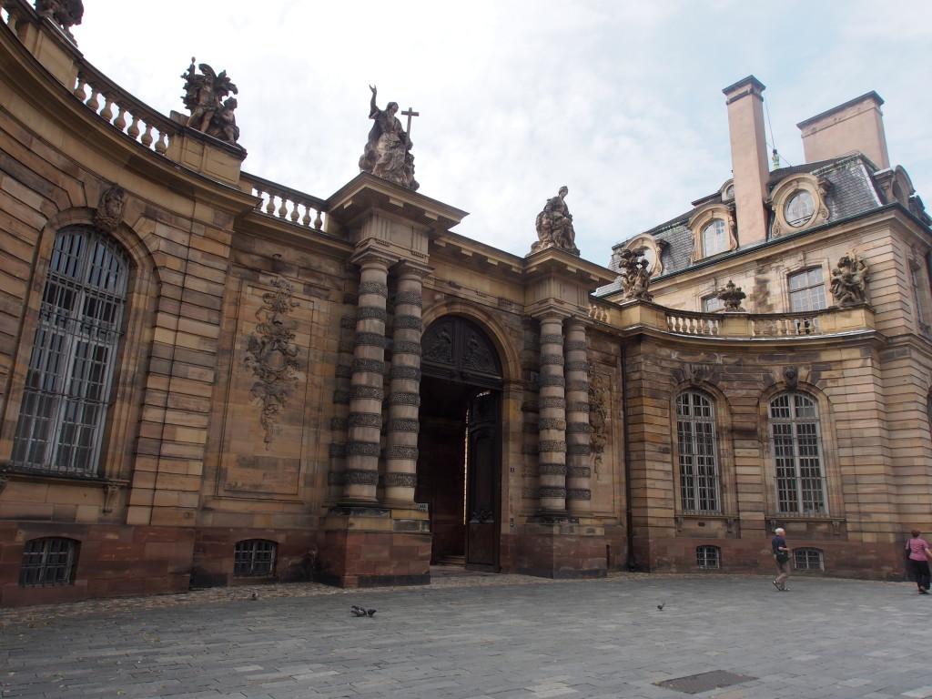 Palais Rohan entrance.