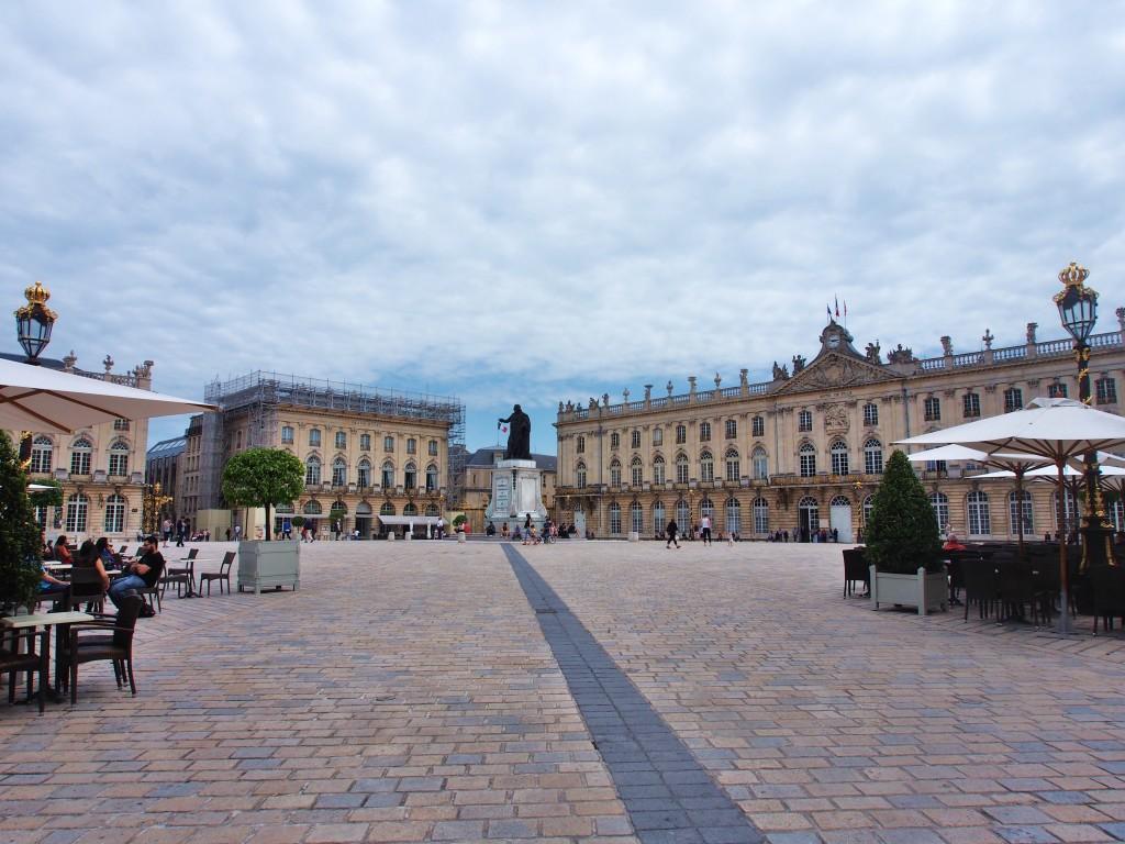 Place Stanislas square.