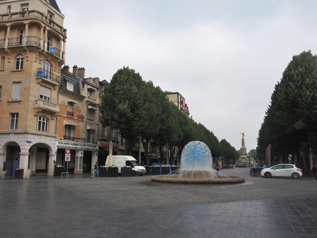 Fountain at Reims.