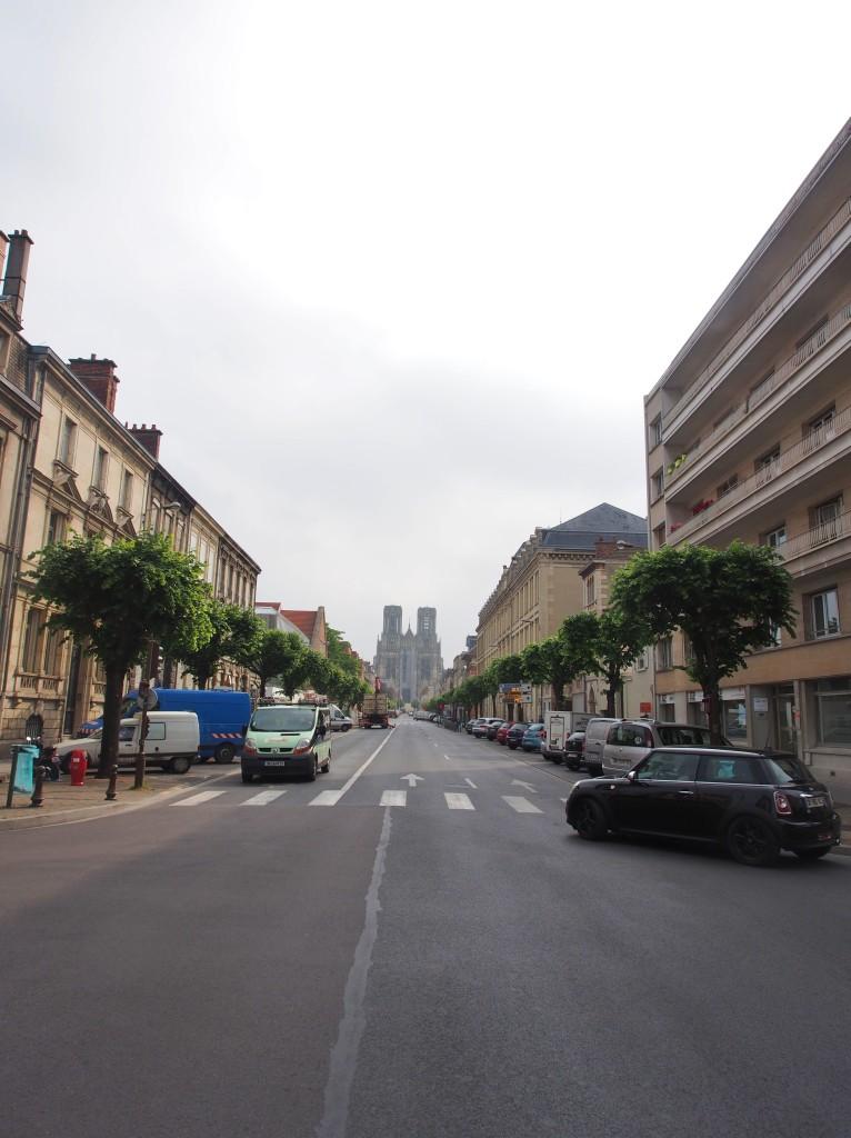Reims street.