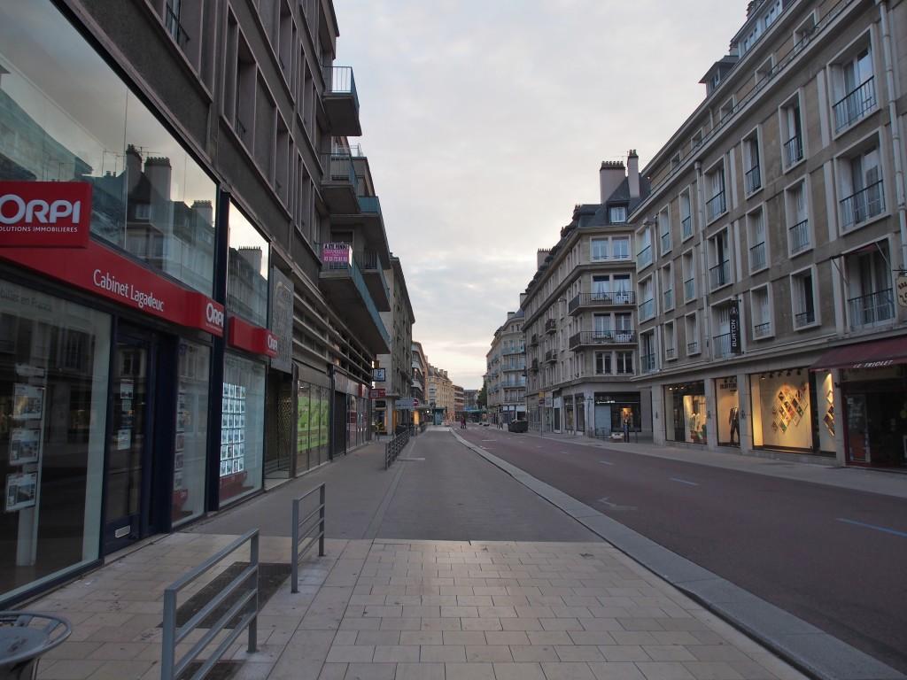 Rouen street.