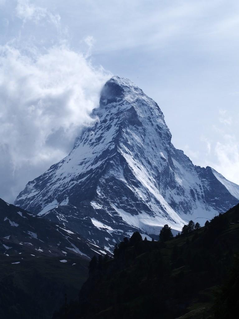 Matterhorn unveiled in a rare moment.