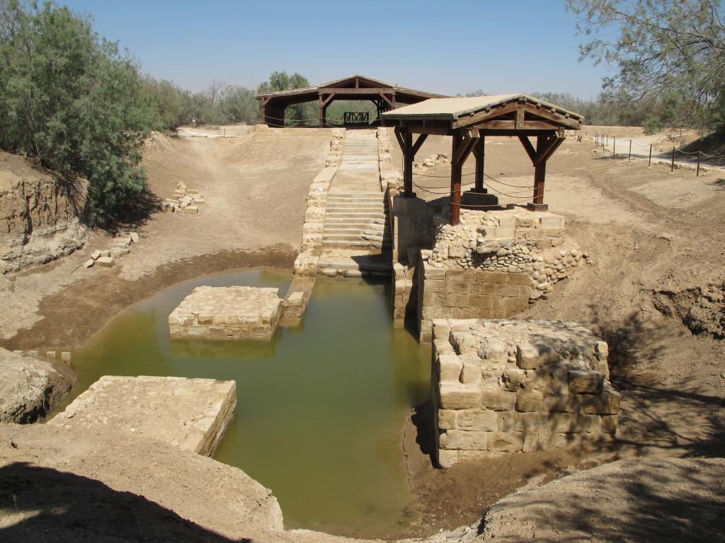 The baptism spot.