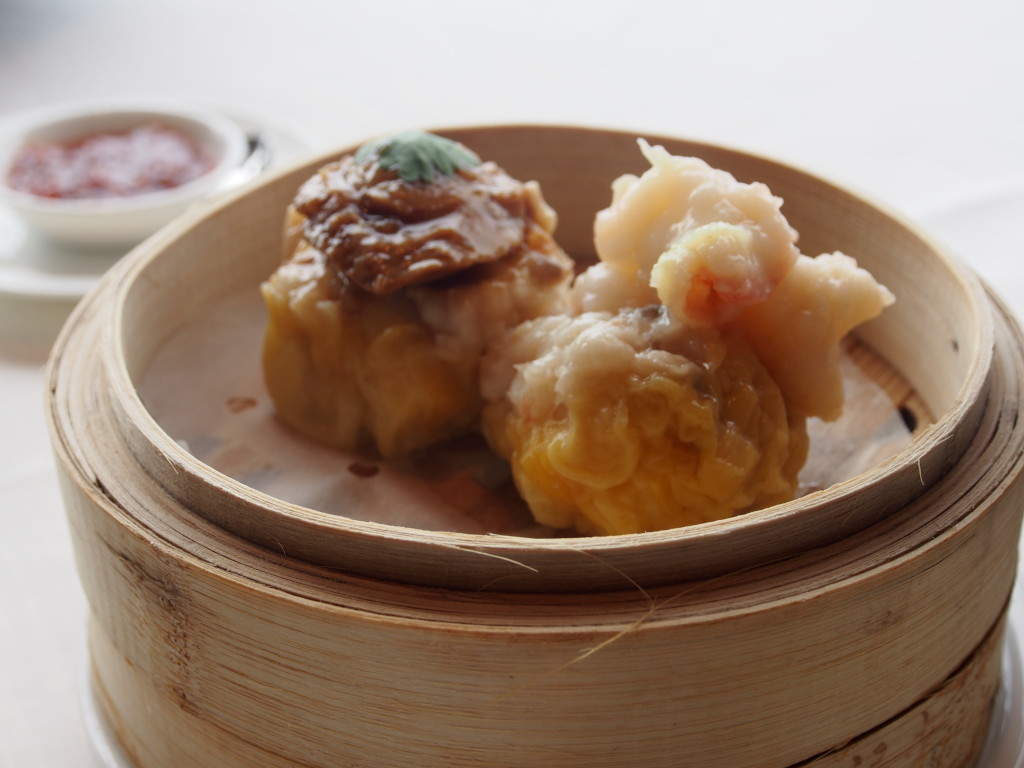 Siew Mai, with an abalone on top.