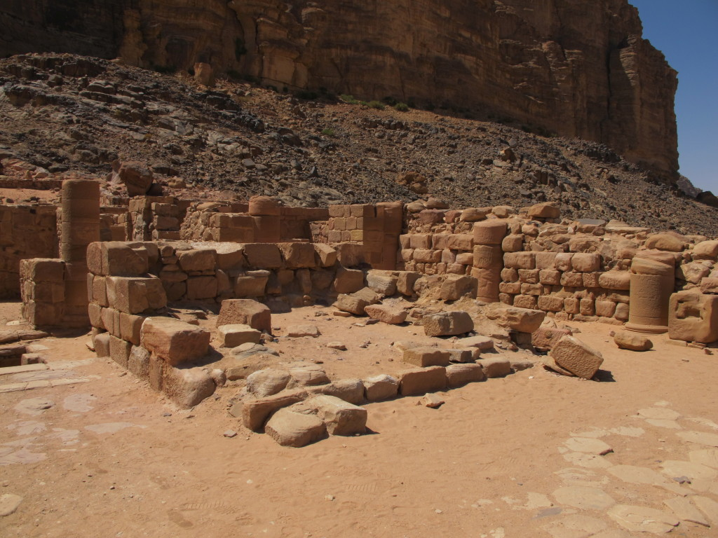 Nabatean temple.