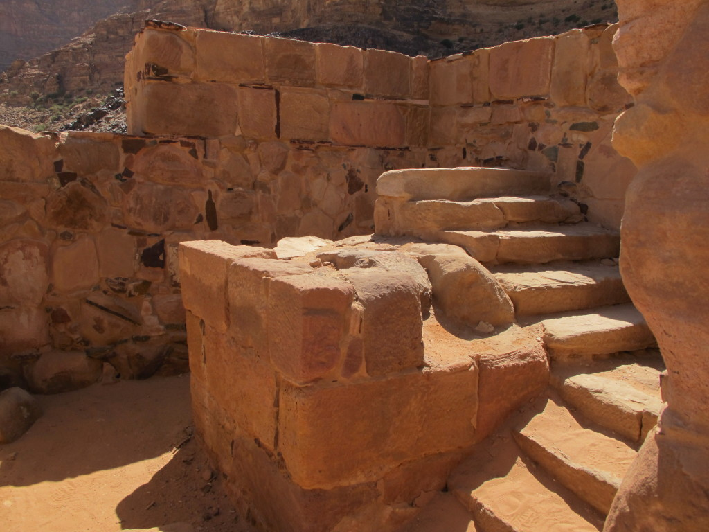 Steps of the temple.