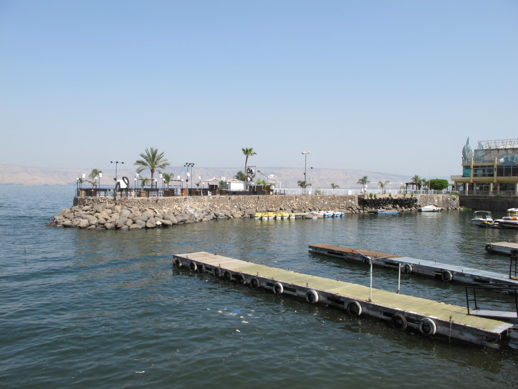 Port at Tiberias, serving the Galilee sea.