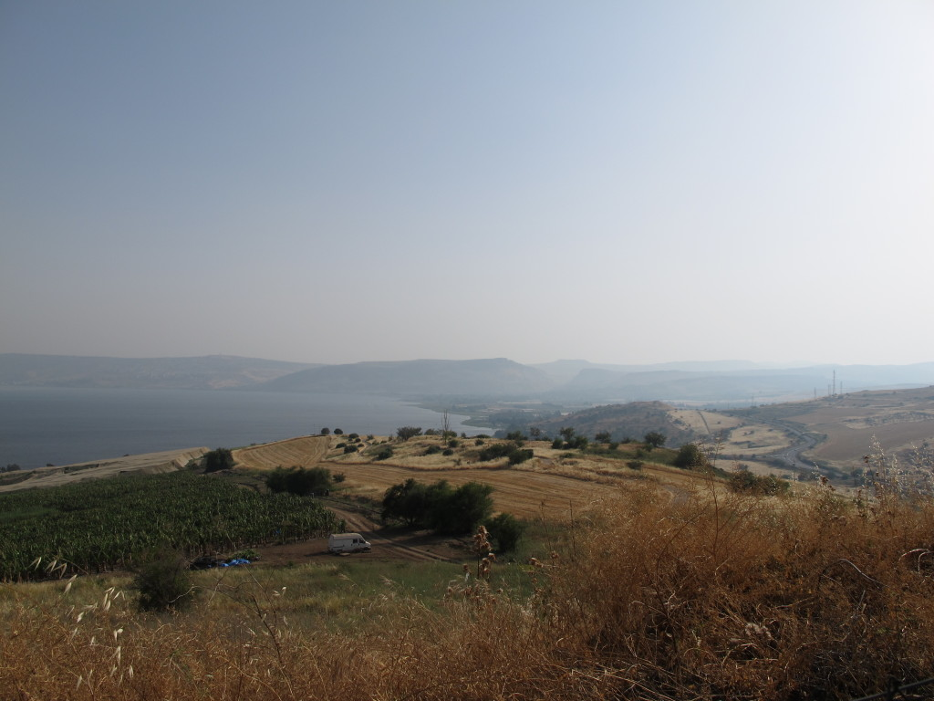 View of the Galilee from the Mount.