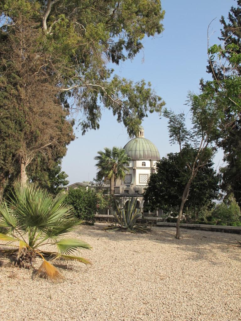 Roman Catholic chapel at Mount of Beatitudes